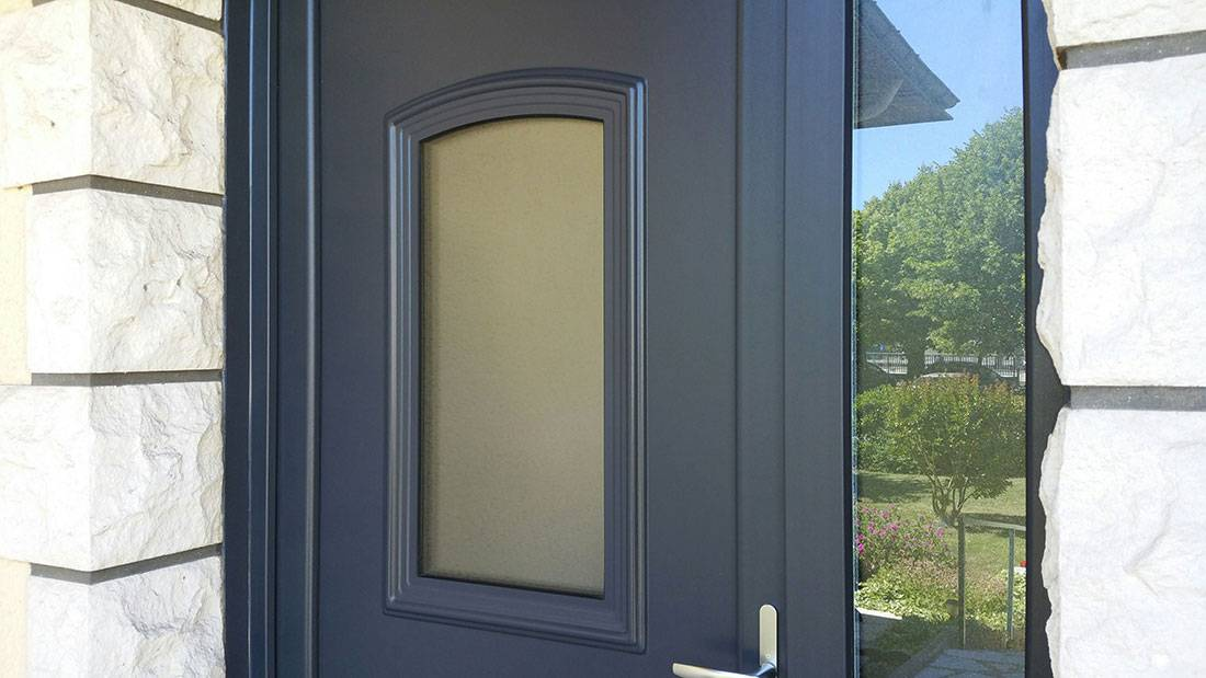 Stunning resized resized resized with porte d entre anthracite for Entre porte alu