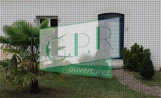 Changement de fenêtres et porte d 'entrée en pvc plaxé coloris châtaignier – Saint hilaire saint florent