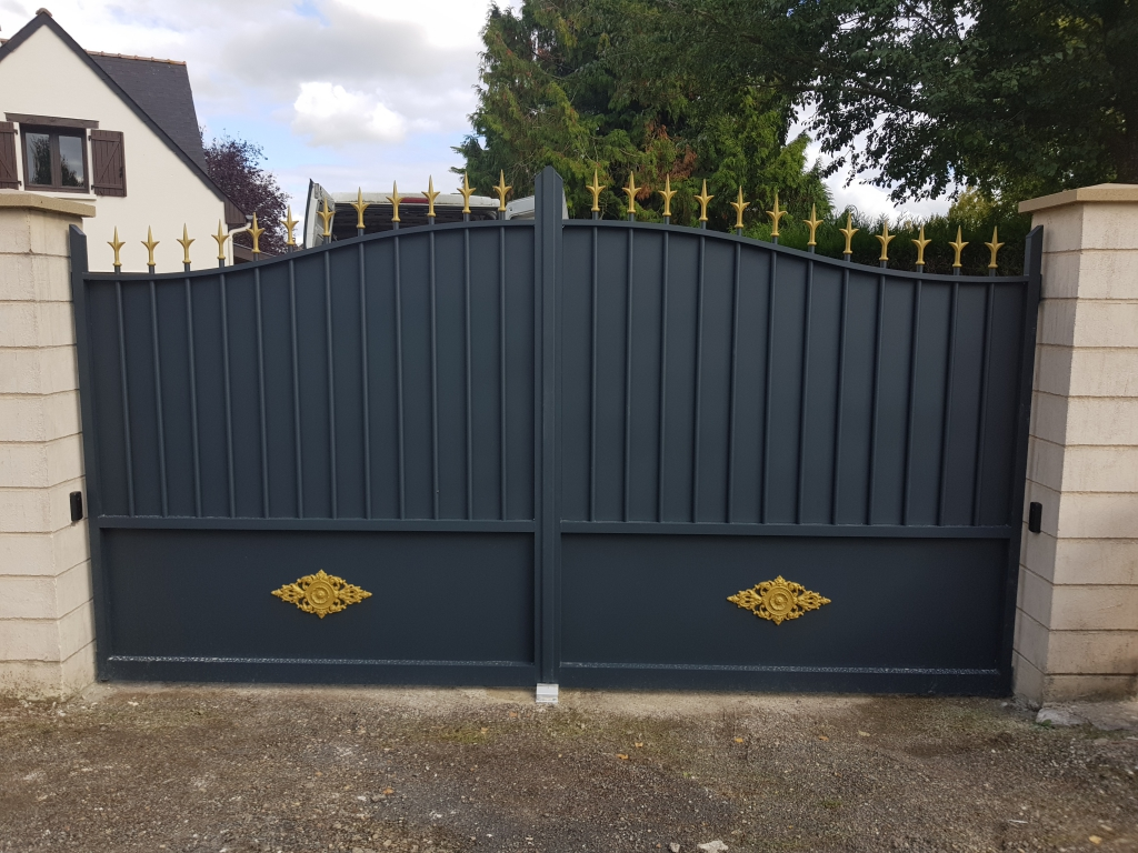 Installation réparation portails Angers (49)