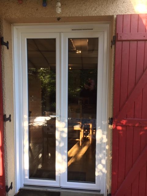 fenêtre PVC blanche - Maine-et-Loire