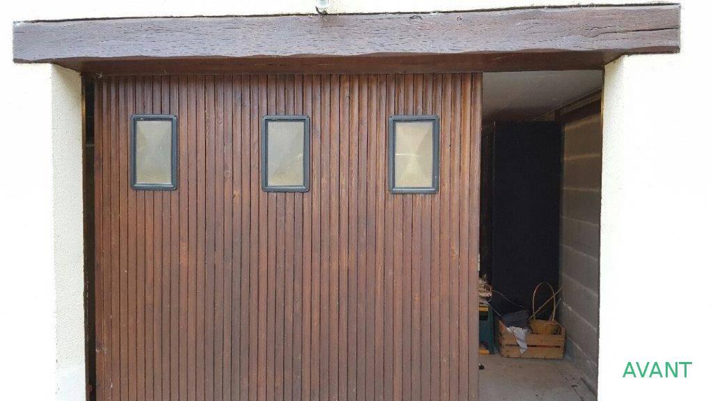 Porte garage Avant